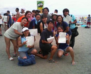 三浦遠泳大会!