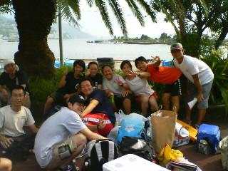 初島熱海団体競泳