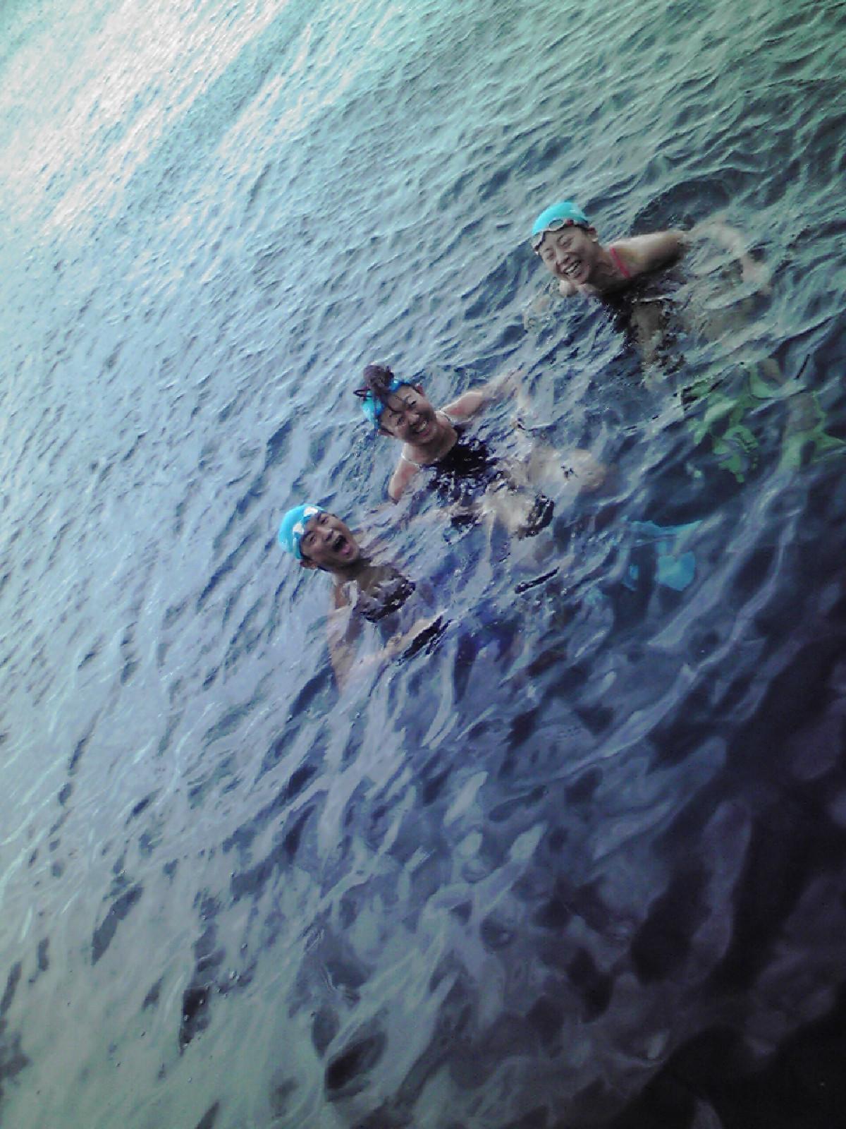今朝の御蔵島2